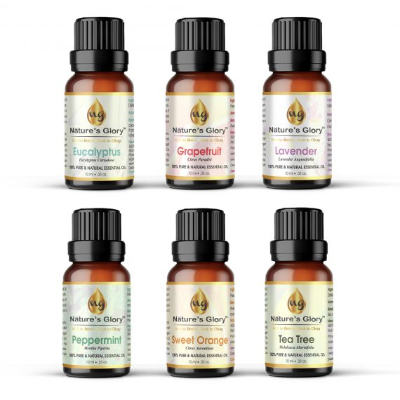 Top 6 Essential oil set